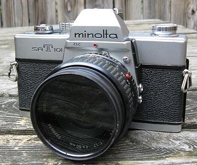 minolta 35mm camera photo